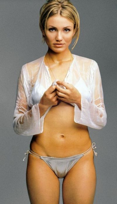 lingerie - Exotic Cameron Diaz,Thongs, all about thongs